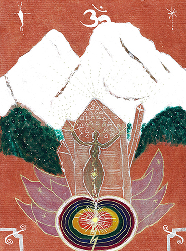 THE OM CRYSTAL OF MOUNT SHASTA