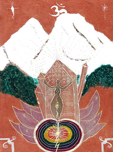 THE OM CRYSTAL OF MOUNT SHASTA